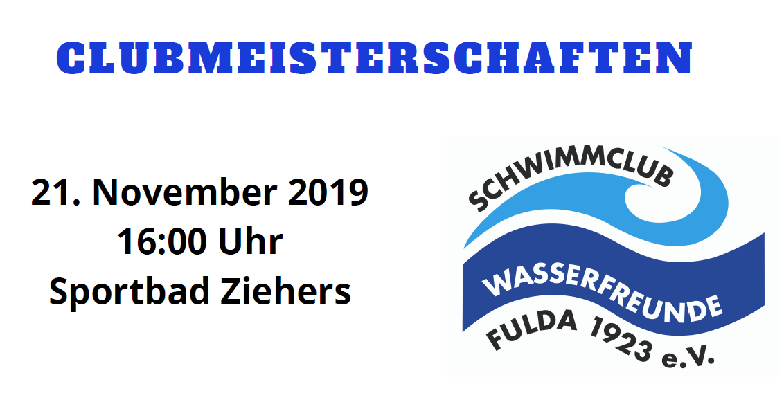 Protokoll Clubmeisterschaften 2019