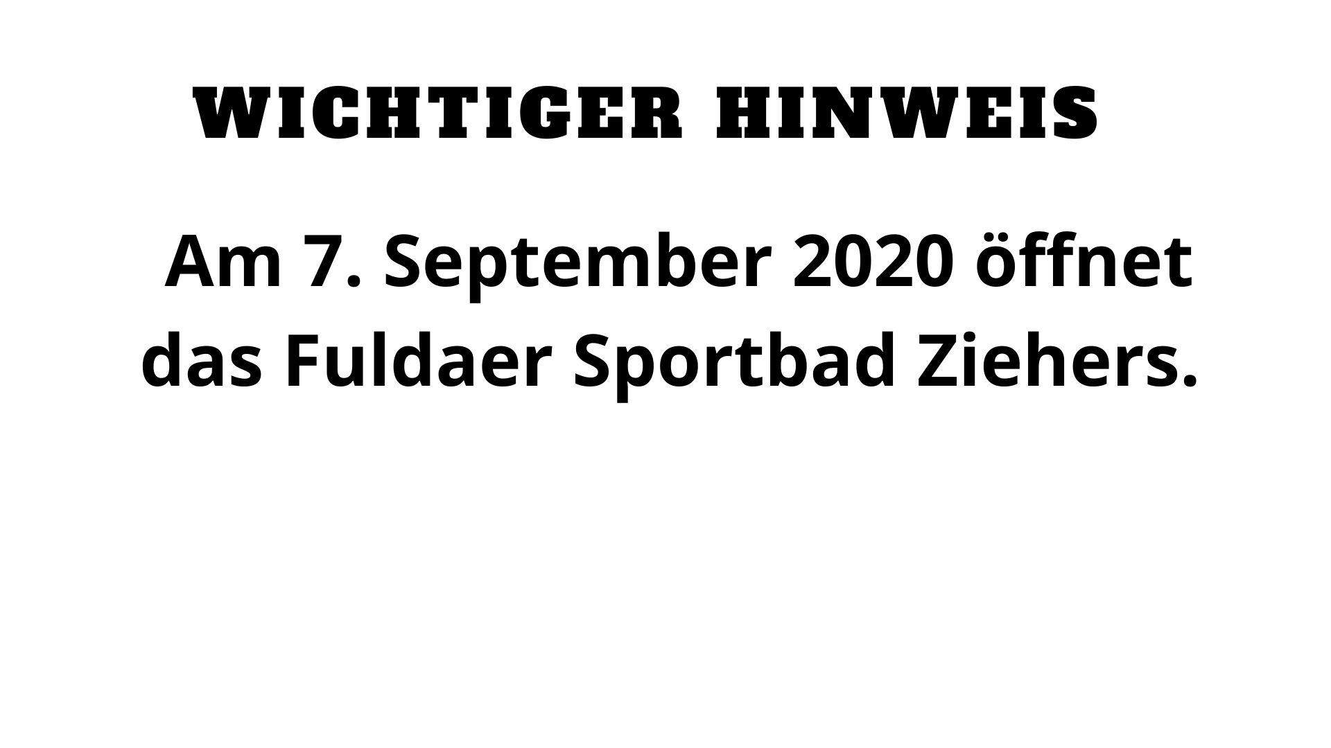 Hallenbäder in Fulda öffnen wieder